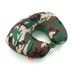 Heys - Camo 2 in 1 Travel Pillow - Luggage and Leather