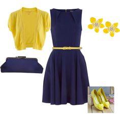 "Blue & yellow scream ""Summer!"""