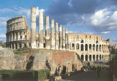 PK0509. Roma. Italy. Colosseo e Fori Imperiali.