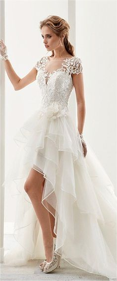 Lace Wedding Dresses (138) #laceweddingdresses