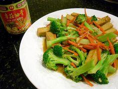 Little Corner of Mine: Pan-fried Tofu with Broccoli