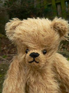 I love mohair teddy bears. So cute