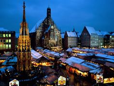 Christmas Market - Nuernberg, Germany