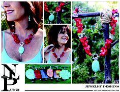 Red Coral Interchangeable Necklace
