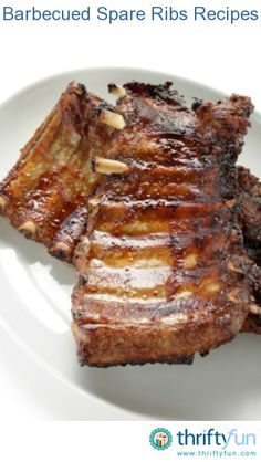 This page contains barbecued spare ribs recipes. Ribs are a barbecue favorite. Rib Recipes, Cooking Recipes, Slow Cooking, Easy Pot Roast, Twice Baked Potatoes, Healthy Food Delivery, Spare Ribs, Healthy Snacks For Diabetics, Food Videos