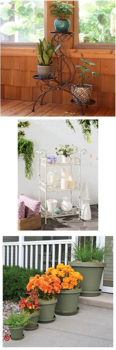 TargetShop Target for planter & stands & and & holders you will… face plants decoration in pot, Indoor Garden, Indoor Plants, Outdoor Gardens, Garden Planters, Home And Garden, Porch Plants, House Plants Decor, Plant Decor, Decoration Plante