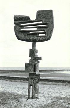 Vincas Jomantas, 'The Guardian Bronze', 1963. One of Australia's most important abstract artists.