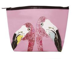 "The ""Loved Up Flamingo's"" Classic Make Up Bag in Box"