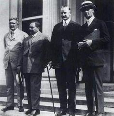 Prince Jonah Kūhiō Kalaniana'ole Pi'ikoi(1871–1922). The Hawaiian Commission to Washington D.C., 1921.