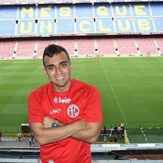 Allan Fernandes e o encontro de grandes times em Barcelona!