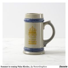 Summer is coming Valar Alcoholis Beer Stein