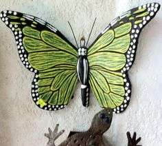 Mexican Clay Butterfly