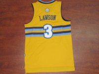 Denver Nuggets NBA #3 Yellow Ty Lawson Jersey [F375]