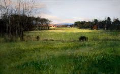 Peter Fiore Landscape Painting | Peter Fiore Landscape Painting