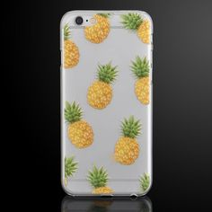 New Cute Fruit Pineapple Design Clear Protective Case Cover For iPhone 5 5S 5C 6 #Unbranded