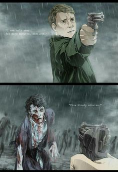 "This is pretty awesome!<== it's actually quite sad :( <- Can we agree that the art is awesome but the story the story is sad? Sherlock is boring. I'm crying. Sherlock is dying."" This is so sad Sherlock Holmes, Sherlock Fandom, Sherlock John, Fan Art Sherlock, Sherlock Comic, Johnlock, Destiel, Manga Anime, Benedict And Martin"