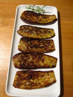 Grilled or Sauteed Eggplants