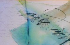 Good Morning!  Written by Cecile Walters  Watercolour on paper.  see more at www.letterdance.co.za