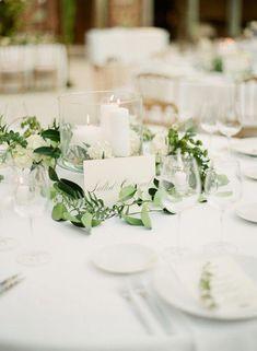 Cheap Wedding Table Centerpiece Ideas - Put the Ring on It Branch Centerpieces, Unique Centerpieces, Wedding Table Centerpieces, Wedding Flower Arrangements, Wedding Decorations, Table Decorations, Wedding Tables, Centerpiece Ideas, Wedding Ideas