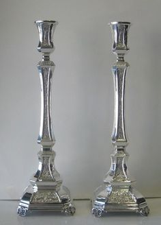 Fine Sterling Silver Candlesticks #HazorfimIsrael