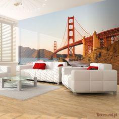 Fototapeta - Most Golden Gate - zachód słońca, San Francisco Decorami.pl