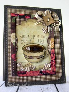 Reverse Confetti | Be a Barista [Friendship, Thinking of You, Just Because Card]