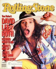 Like A Rolling Stone, Rolling Stones, Rolling Stone Magazine Cover, David Lee Roth, Eddie Van Halen, Famous Musicians, Rockn Roll, Vintage Magazines, Teen Magazines
