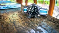 Seiko with nato strap. Nato Strap, Seiko, Omega Watch, Men's Fashion, Watches, Accessories, Moda Masculina, Mens Fashion, Wristwatches