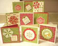 Deluxe Christmas Tags - Stampin' Connection