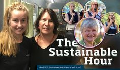 The Sustainable Hour on 8 March 2017, the International Women's Day, with Suzette Jackson, Ninna Katrine Larsen and Thea Ormerod and rally speeches by Dr Kate Lardner, Wendy Farmer and Cat Nadel. L…