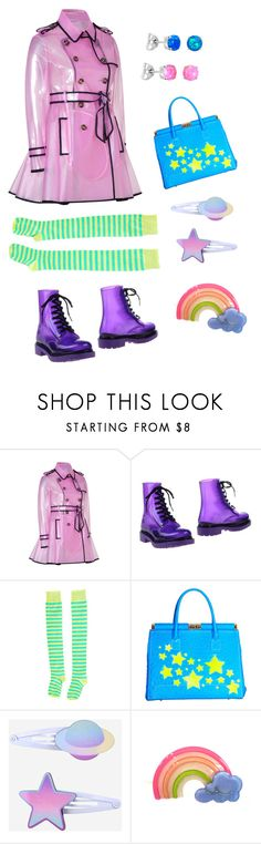"""""""Untitled #1212"""" by psychoyouth ❤ liked on Polyvore featuring RED Valentino, G·Six Workshop and Camouflage Couture"""