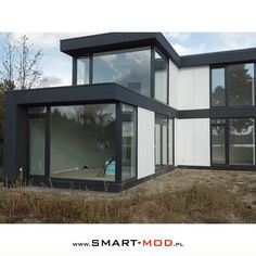 Building A Container Home, Container Buildings, Container House Plans, Container House Design, Cargo Container Homes, Container Architecture, Tiny House Luxury, Modern Tiny House, Modern House Design