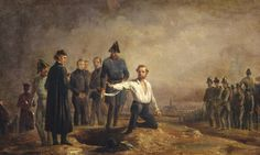 9 November 1848 on the Brigittenau in Vienna, the publicist, revolutionist and member of the National Assembly Robert Blum was executed by firing squad.  #history #europeanhistory