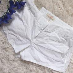 "White j.crew shorts 💖 Chino city fit💞size 10 💞inseam 3"" 💕 J. Crew Shorts Bermudas"