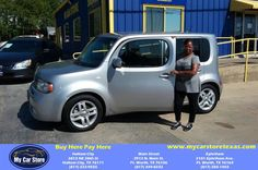 Congratulations Sharon on your #Nissan #cube from Lee Martinez at My Car Store Buy Here Pay Here!  https://deliverymaxx.com/DealerReviews.aspx?DealerCode=YOGM  #MyCarStoreBuyHerePayHere