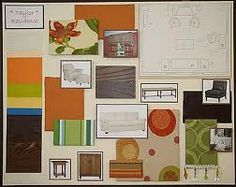 Presentation Boards Of Interior Design