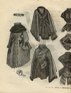 LA MODE MINIATURE  dated January 10, 1874