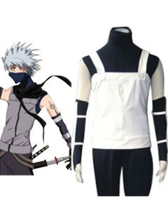Naruto Hatake Kakashi Jacket Cosplay Costume