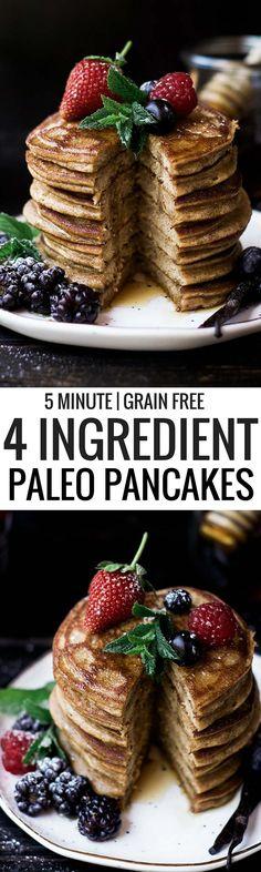 Paleo pancakes made