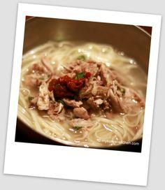 Chicken Noodle Soup (Dak Kalguksu) - My Korean Kitchen