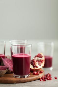Ravishingly Red Juice | Pomegranate, Beet, Red Cabbage Juice