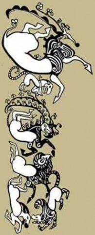 Namtar - Татуировки мумий из Пазырыка, ч.1