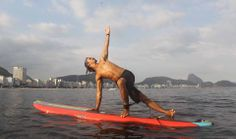 Stand up Paddle Ioga, Copacabana foto: Joao Laet