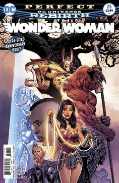 DC UNIVERSE REBIRTH WONDER WOMAN #1 STANDARD COVER FIRST PRINT!