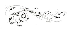 Gallery For > Leaves Blowing In The Wind Drawing, nice tattoo design