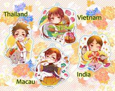 Thailand-Vietnam-Macau-India