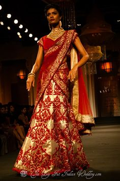 Jyotsna Tiwari - Of Ball Gowns & Lenghas - Aamby Valley India Bridal Week 2012 - Gallery - TheBigFatIndianWedding.com
