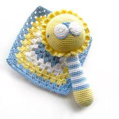 Baby Bruno Rattle - Amigurumi Pattern