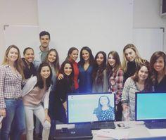 Hoy nos ha visitado @lorenagarciadiez un verdadero ejemplo a seguir.  Gracias por tus palabras y enhorabuena por tu trabajo. #periodismo #pasión #informativos #Antena3 #máster #nebrija by marypazbailon