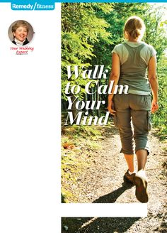 Walking is good exercise for body and mind